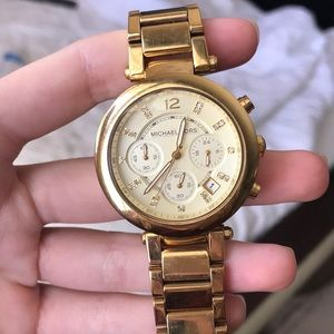Michael Kors Parker Gold-Tone Watch